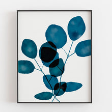 Load image into Gallery viewer, Indigo Eucalyptus 3- Printable Art