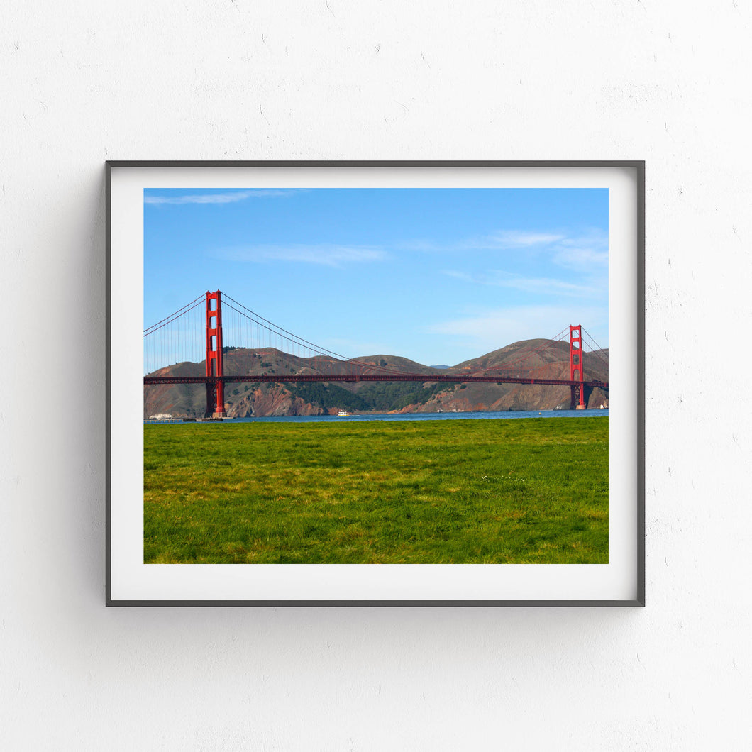 Golden Gate Bridge- Printable Art