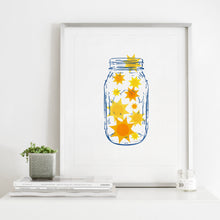Load image into Gallery viewer, Jar Of Sunshine- Instant Download Wall Art Print