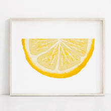 Load image into Gallery viewer, Lemon Wedge- Instant Download Wall Art Print