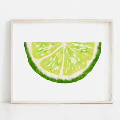 Lime- Instant Dowload Wall Art Print