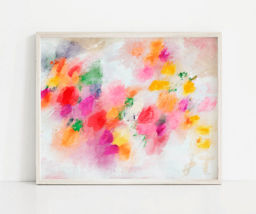 Memories Of Summer- Printable Abstract Art