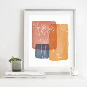 Moroccan Sunset 1- Instant Download Printable Wall Art