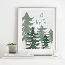 Load image into Gallery viewer, Oh What Fun Sage- Instant Download Christmas Wall Art
