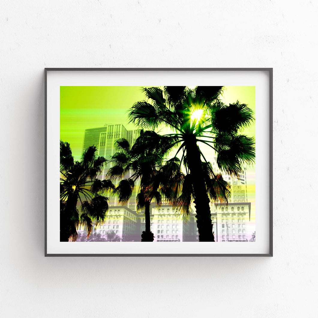 California Palm Trees- Printable Art