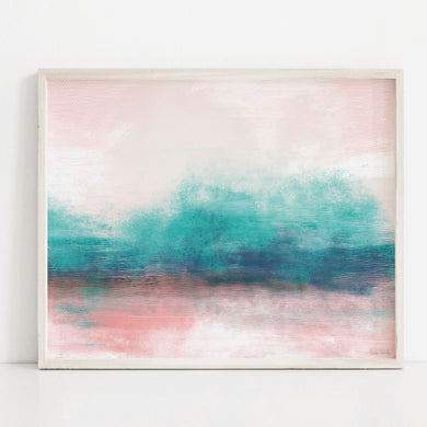 Pastel Beach- Printable Art