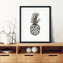 Load image into Gallery viewer, Autumn Pineapple- Instant Download Wall Art
