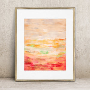Printemps- Instant download Abstract Art