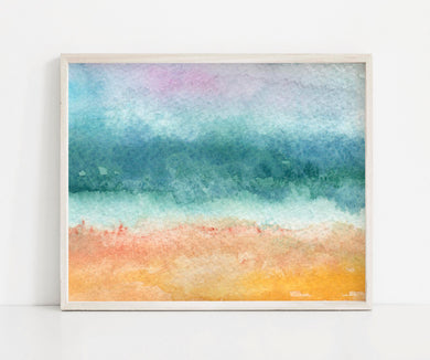 Sea and Sand- Printable Coastal Art