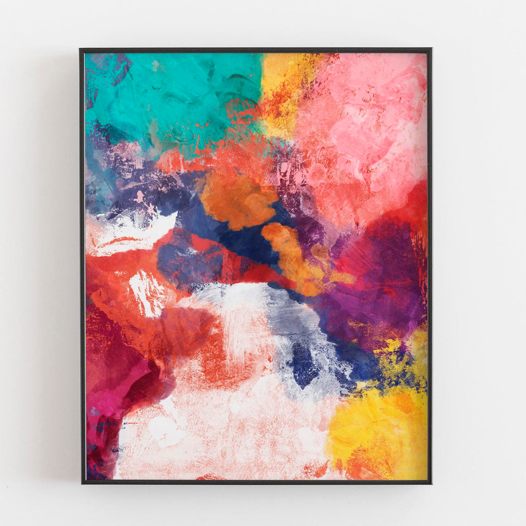 Spring Crush- Printable Abstract Art