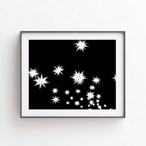Star Lights- Digital Printable Wall Art