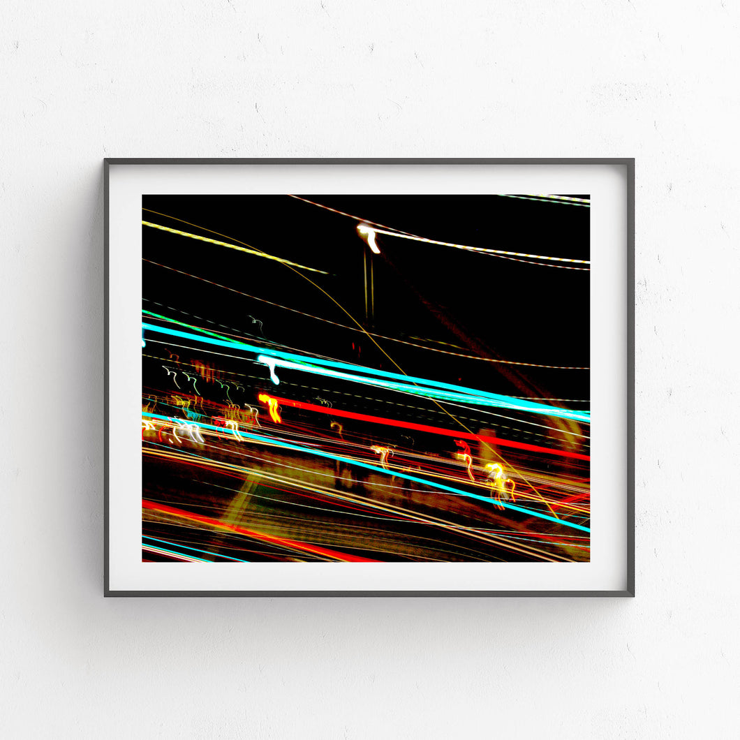 Streaks Of Light- Printable Art