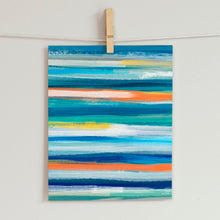 Load image into Gallery viewer, Beach Stripes- Printable Art