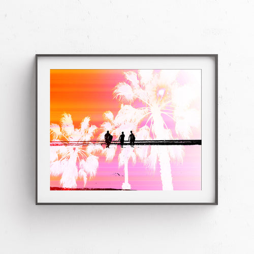 Surfer's Paradise- Printable Art