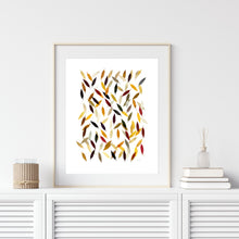 Load image into Gallery viewer, Falling Leaves- Instant Download Wall Art Print