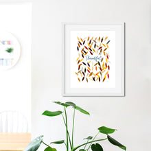 Load image into Gallery viewer, Thankful- Instant Download Wall Art Print