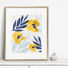 Load image into Gallery viewer, Yellow Flowers 1- Digital Download Wall Art