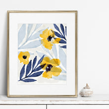 Load image into Gallery viewer, Yellow Flowers 2- Instant Download Wall Art