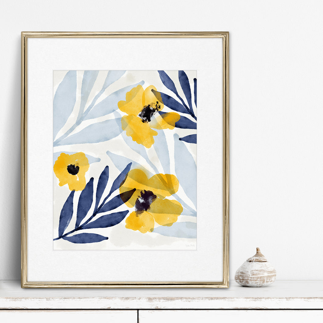 Yellow Flowers 2- Instant Download Wall Art