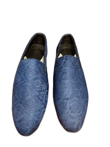 Comfortable Blue Men's Wedding Shoes
