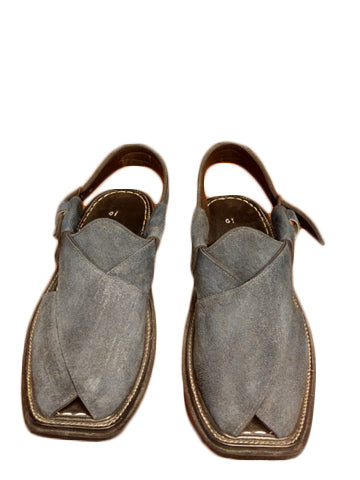 Casual Gray Men Outdoor Sandals