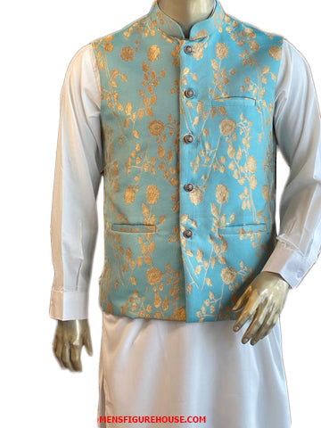 Traditional Wedding Party Men Waistcoat Set