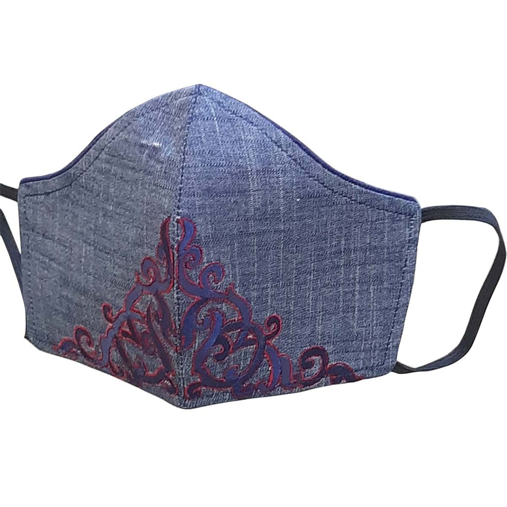 Comfortable Embroidery Face Mask