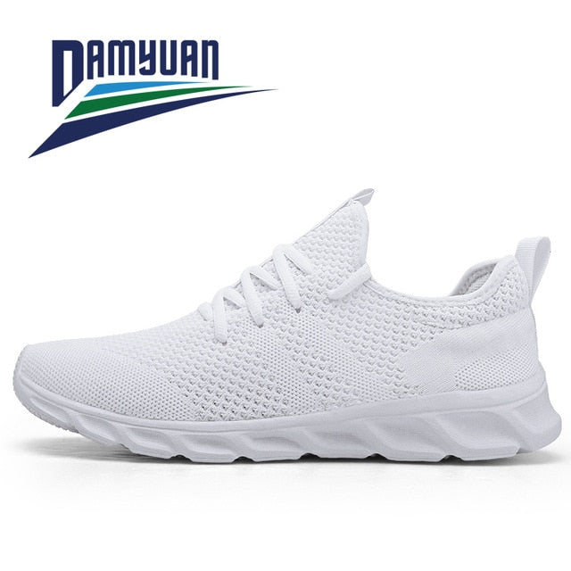 Damyuan Men Shoes Plus Size 47 Men Casual Shoes 2020 Summer High Quality Mesh Sneakers Lightweight Breathable Male Trainers 48