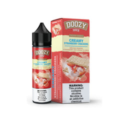 Doozy Juice Creamy Strawberry Crackers (60ml)