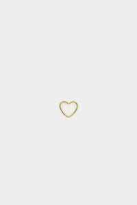 Basic Gold Earring (Heart)