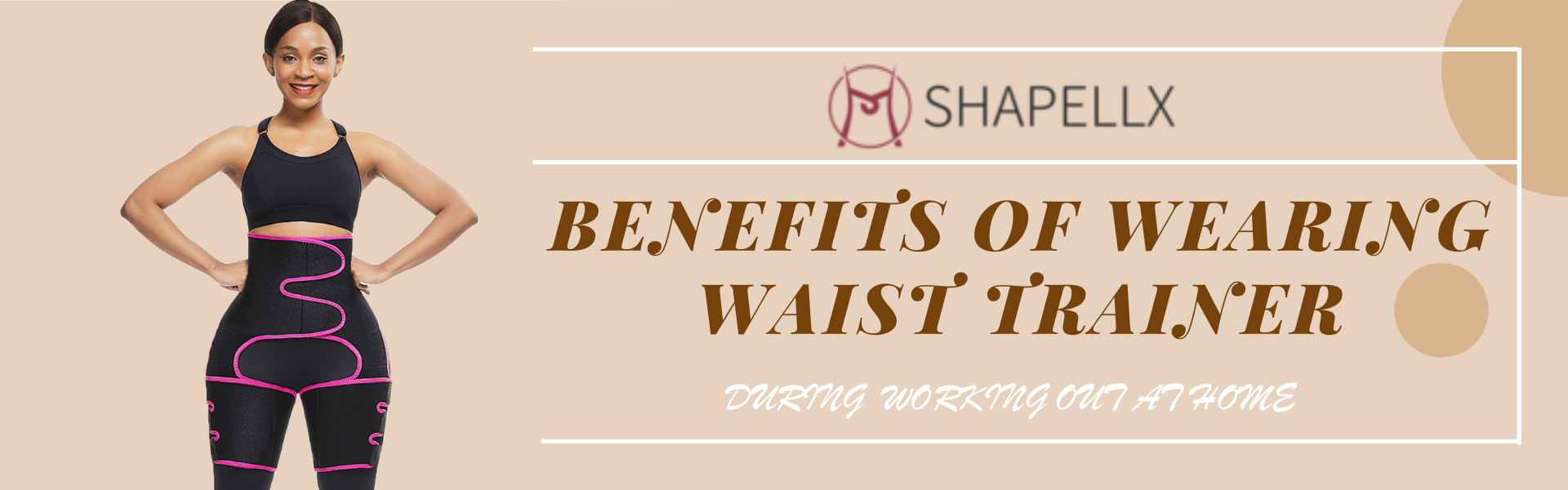 Benefits of Wearing Waist and Thigh Trimmer While Working Out