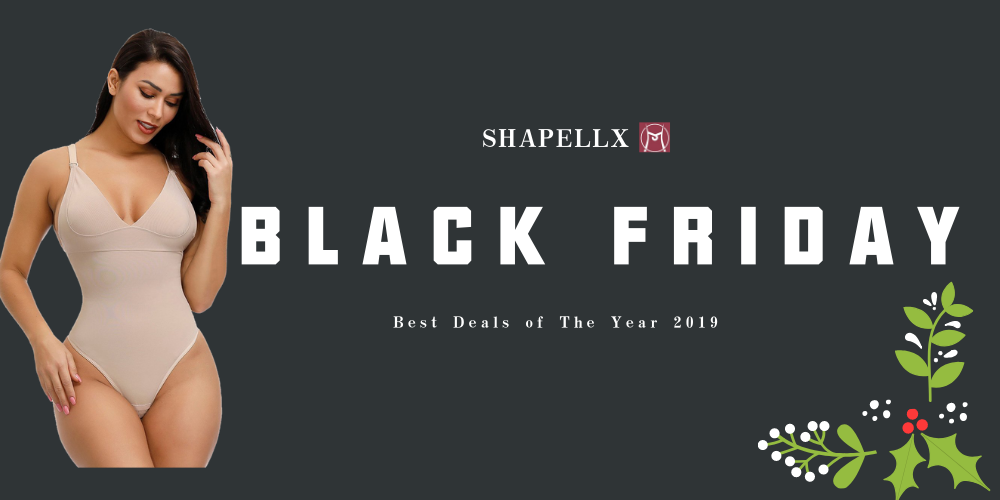 Shapellx Shapewear Black Friday 2019 Deals, Cyber Monday Discount