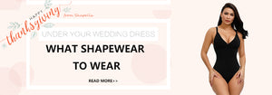 What Shapewear to Wear Under Your Wedding Dress?