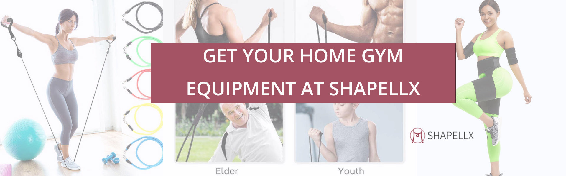 Get Your Home Gym Equipments at Shapellx