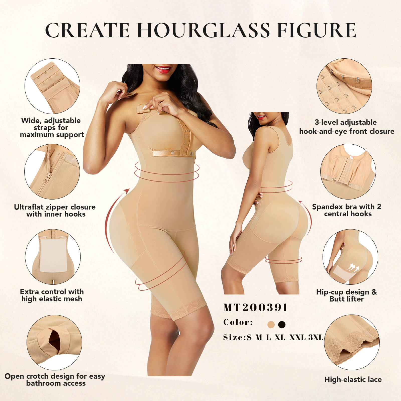 AirSlim™ Post Surgery Firm Control Full Body Shaper