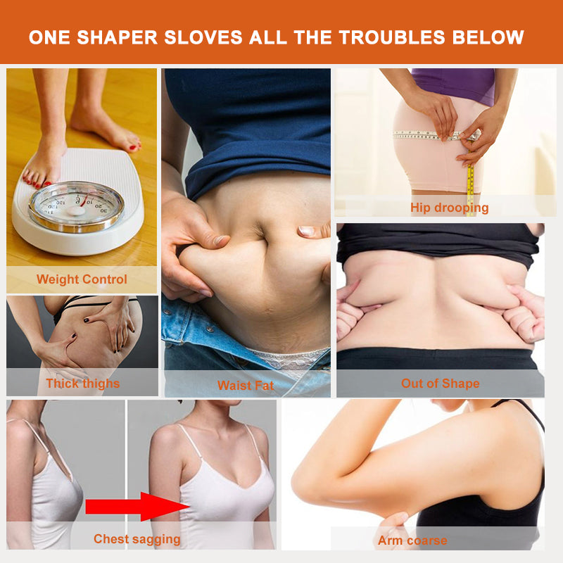 AirSlim™ Open Bust Postpartum Recovery Full Body Shaper