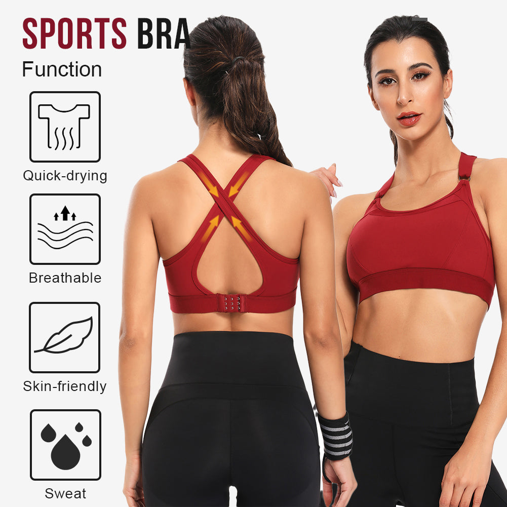 Shapellx Hollow Out Back Sport Yoga Bra