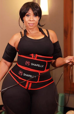 double belts waist trainer