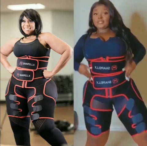 3 in on waist trainer and thgh trimmer