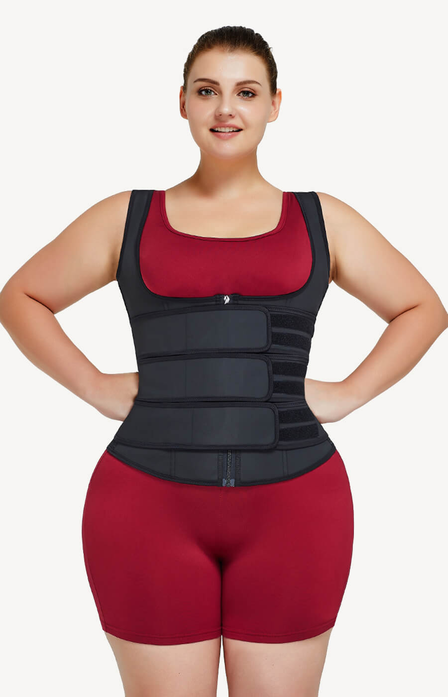 plus size waist trainer vest