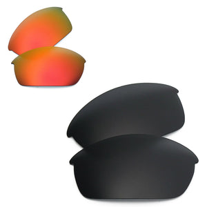 RAWD Polarized Replacement Lenses for-Oakley Flak Jacket Sunglass-Options