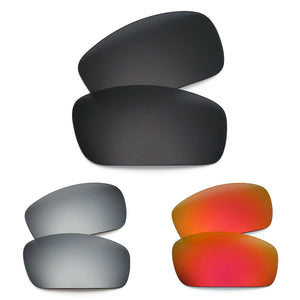 RAWD Polarized Replacement Lenses for-Oakley Monster Pup - Sunglass