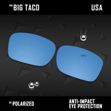 Load image into Gallery viewer, Anti Scratch Polarized Replacement Lenses for-Oakley Big Taco OO9173 Options