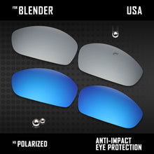 Load image into Gallery viewer, Anti Scratch Polarized Replacement Lenses for-Oakley Blender OO4059 Options