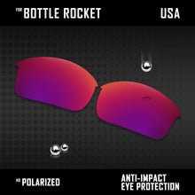 Load image into Gallery viewer, Anti Scratch Polarized Replacement Lenses for-Oakley Bottle Rocket OO9164 Opt