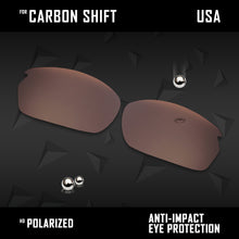 Load image into Gallery viewer, Anti Scratch Polarized Replacement Lenses for-Oakley Carbon Shift OO9302 Opt