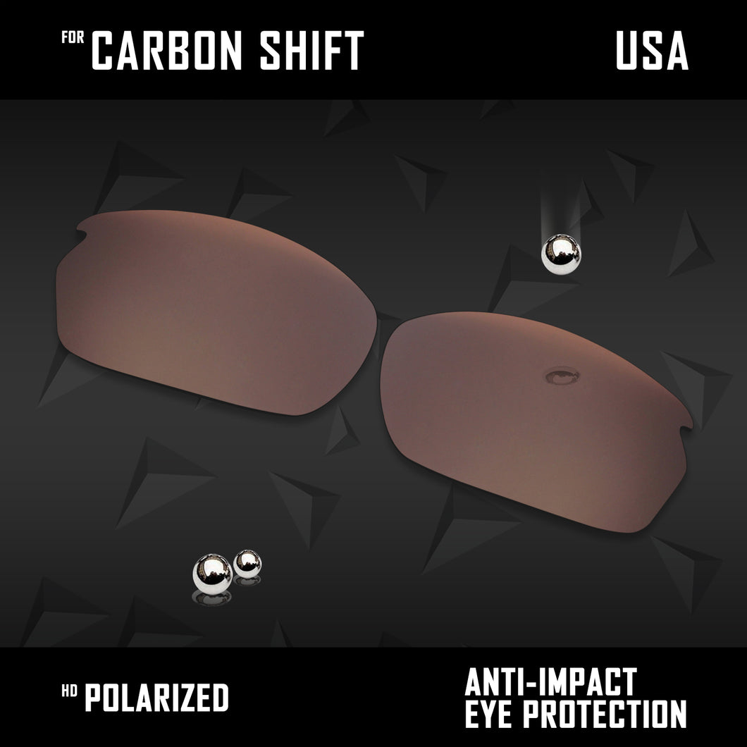 Anti Scratch Polarized Replacement Lenses for-Oakley Carbon Shift OO9302 Opt