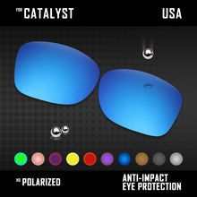 Load image into Gallery viewer, Anti Scratch Polarized Replacement Lenses for-Oakley Catalyst OO9272 Options