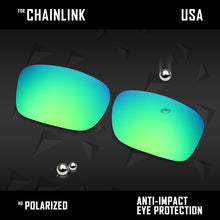 Load image into Gallery viewer, Anti Scratch Polarized Replacement Lenses for-Oakley Chainlink OO9247 Options