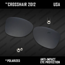 Load image into Gallery viewer, Anti Scratch Polarized Replacement Lenses for-Oakley Crosshair 2012 OO4060 Opt